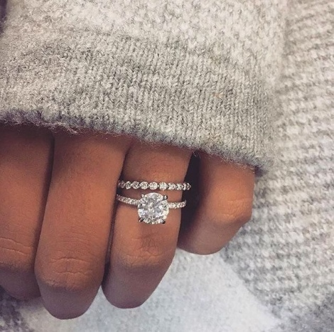 the best cubic zirconia engagement rings