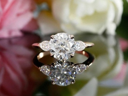 cubic zirconia for engagement ring