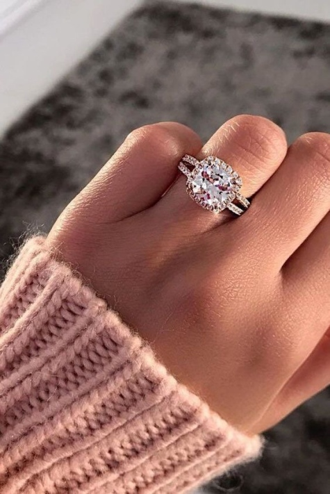good cubic zirconia engagement rings