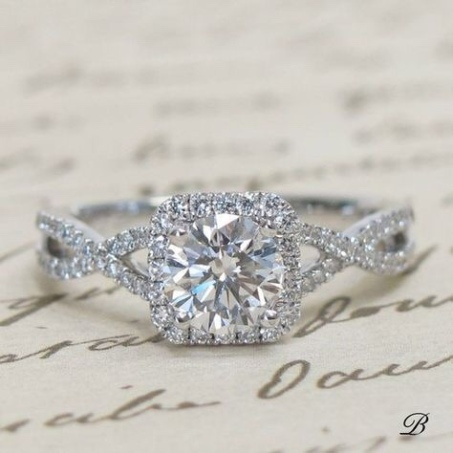cubic zirconia as an engagement ring