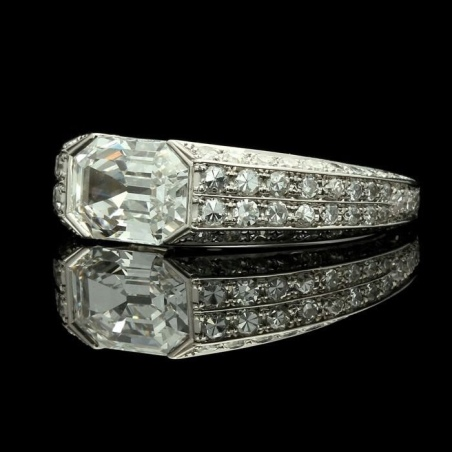 is cubic zirconia good for an engagement ring